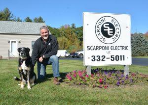Steve Scarponi and Alaska the Dog